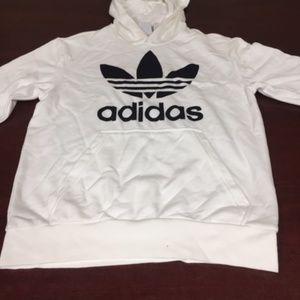 NWOT-adidas long sleeves hoodie-129